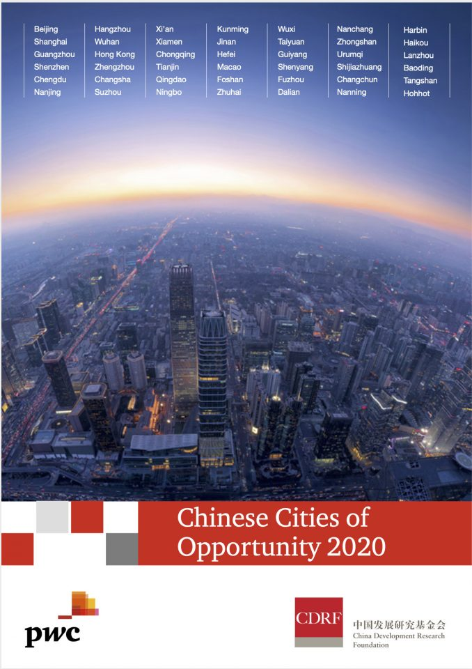 Chinese Cities of Opportunity 2020