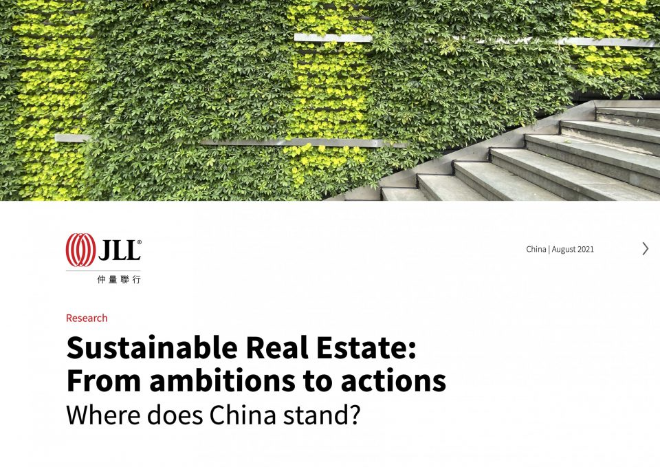 Sustainable Real Estate: From ambitions to actions